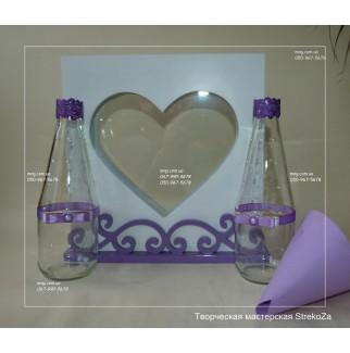 Сердце: набор для песочной церемонии all inclusive VIP